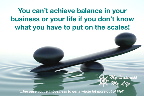 Business Balance and Life Balance